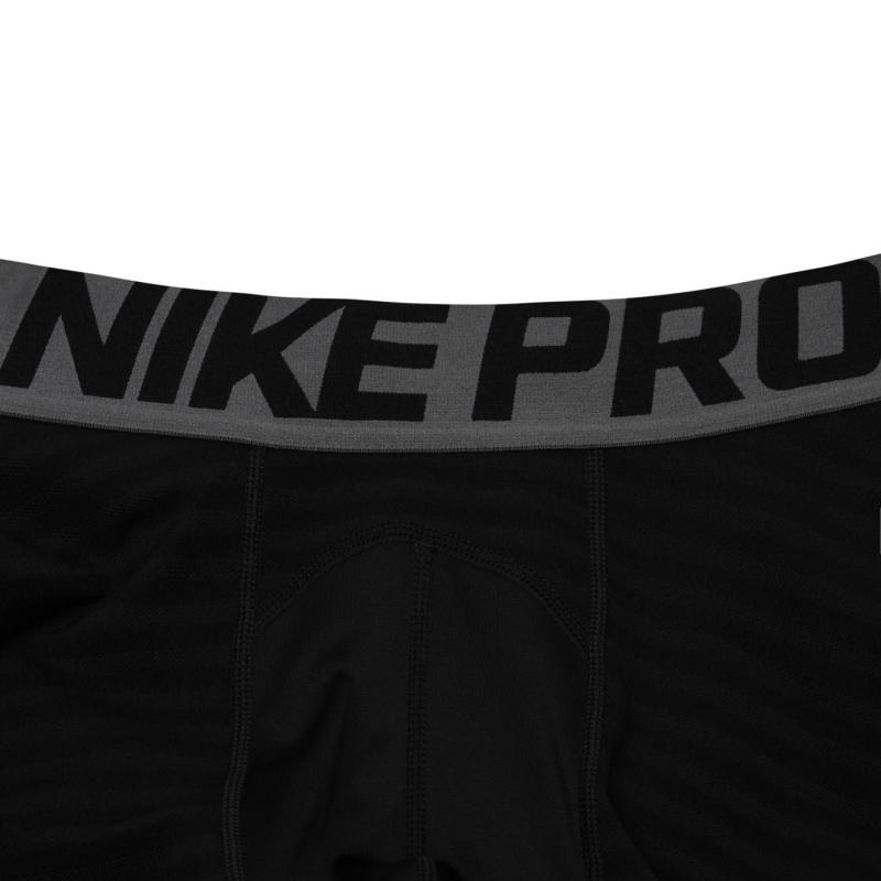Nike Pro Warm Tight Mens Black/Grey