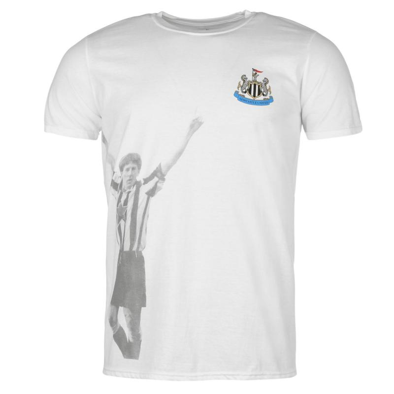 Tričko Team Newcastle United Retro Player T Shirt Mens MacDonald