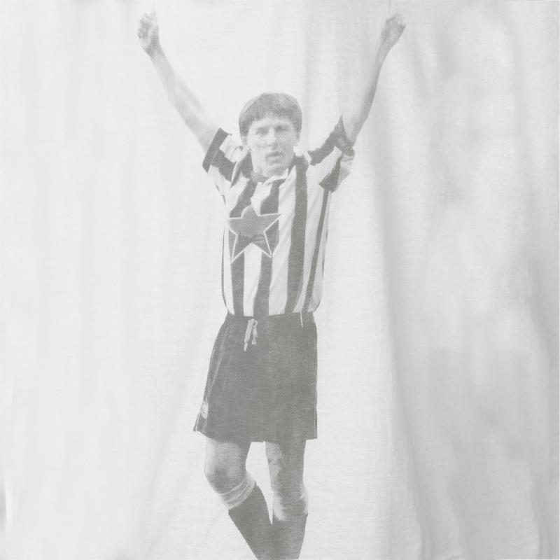 Tričko Team Newcastle United Retro Player T Shirt Mens Asprilla