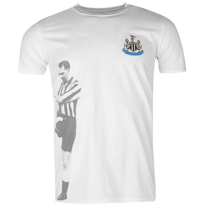 Tričko Team Newcastle United Retro Player T Shirt Mens Beardsley
