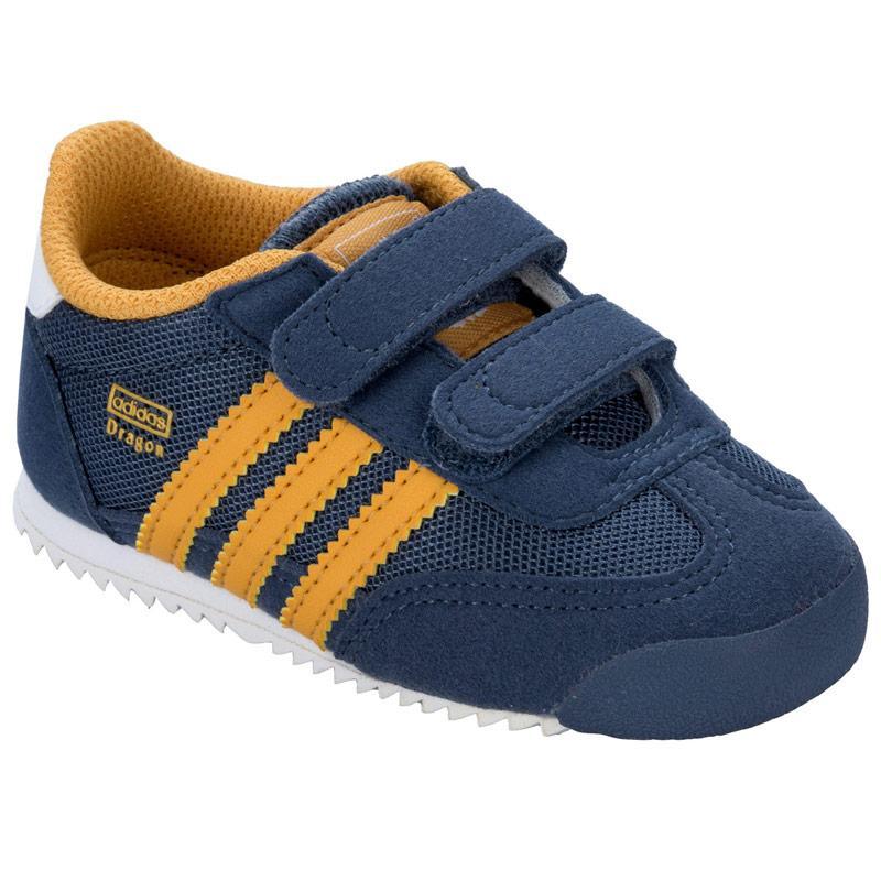 Boty Adidas Originals Infant Boys Dragon CF Trainers inkwell