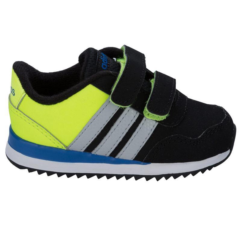 Boty Adidas Neo Infant Boys Jog Trainers Black, Velikost: UK7,5 (euro 41,5)