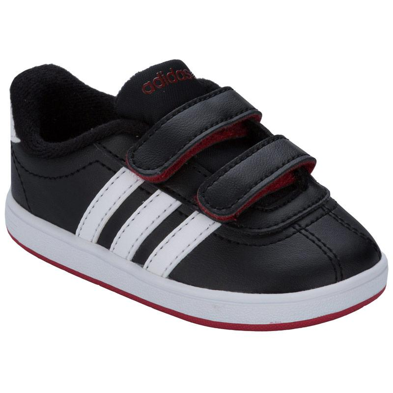 Boty Adidas Neo Infant Boys VLCourt CMF Trainers Black