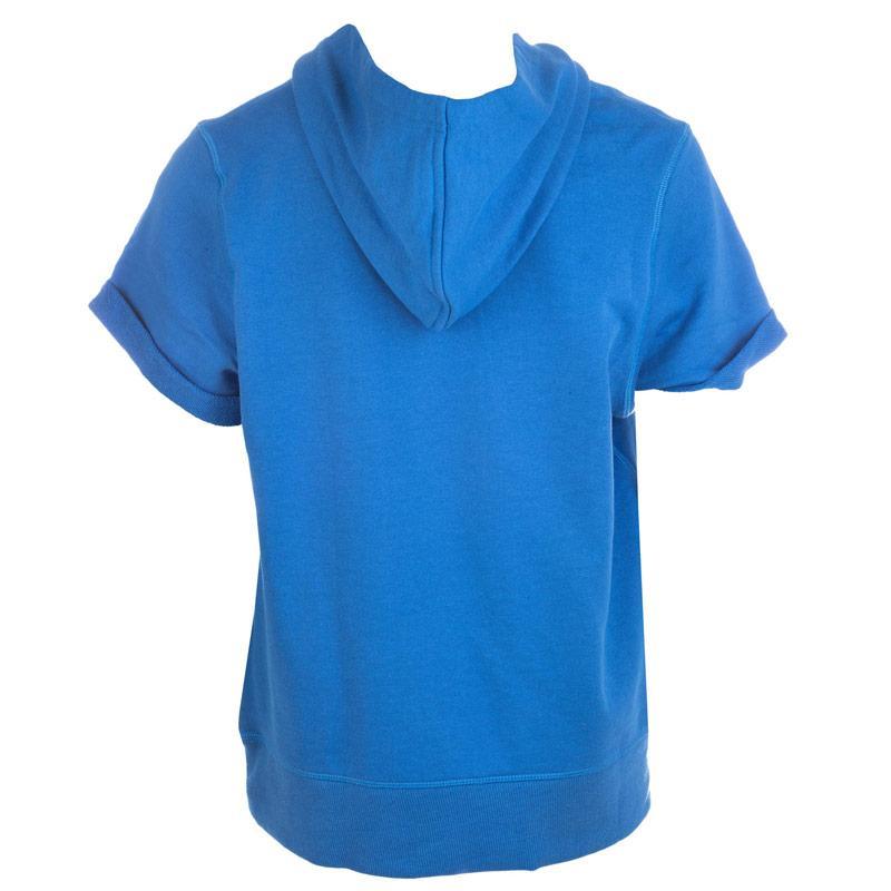Mikina Converse Junior Boys Sleeveless Hoody Blue