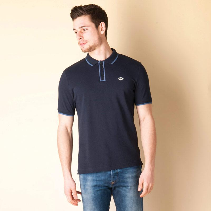 Le Shark Mens Bridgeway Polo Shirt Navy