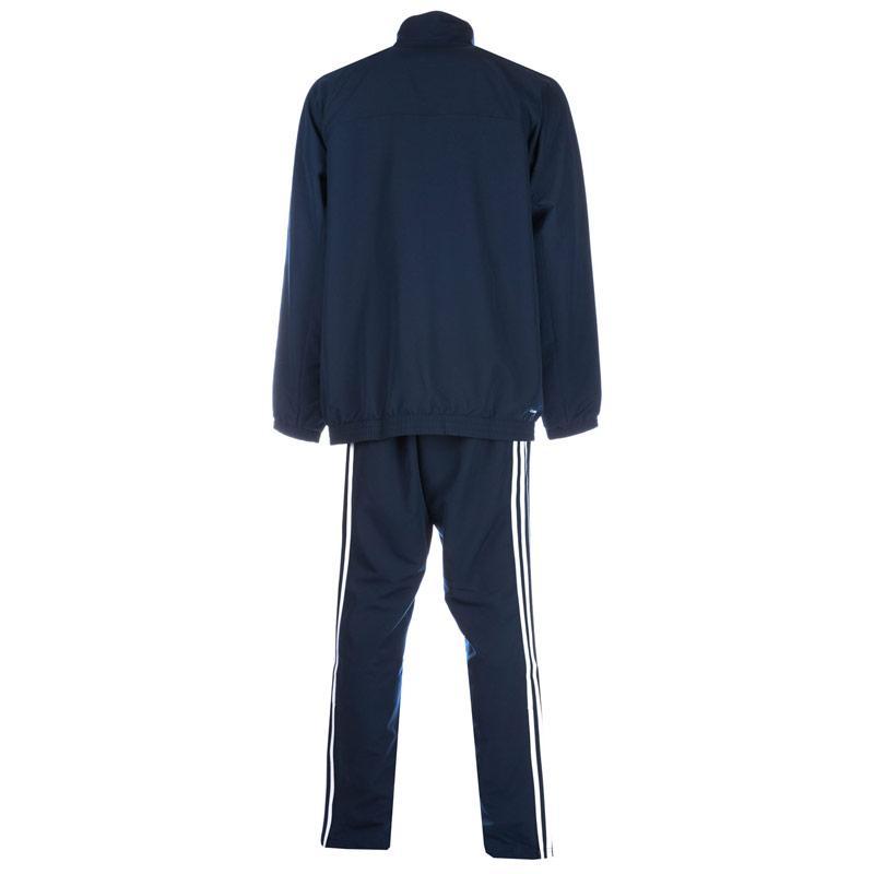 Adidas Mens Tall Essentials 3S Tracksuit Black