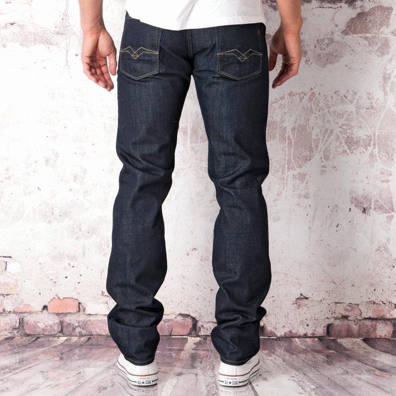 Replay Mens Willham Vintage Regular Jeans Denim