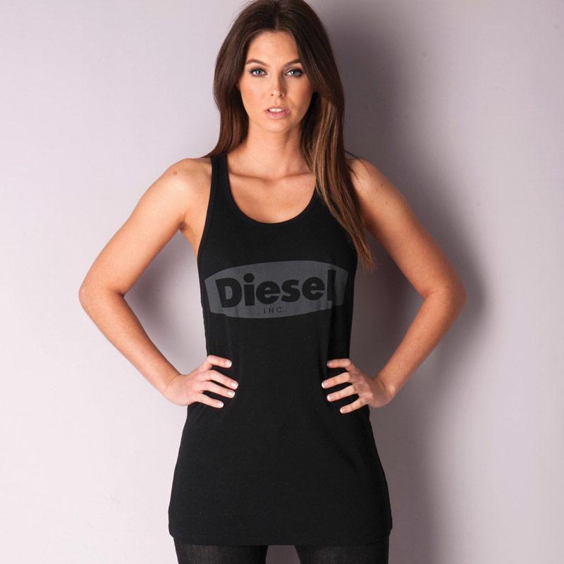 Diesel Womens T-Merm Vest Black