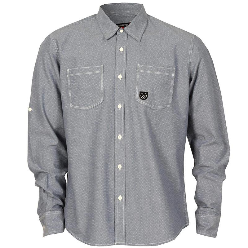 Košile Duck And Cover Mens Sebastian Shirt Light Blue