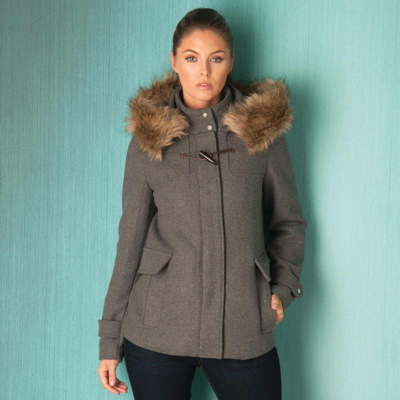 Bunda Vero Moda Womens Camille Jacket Grey