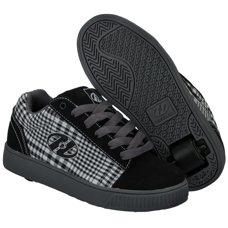 Boty Heelys Childrens Straight Up Trainers Black