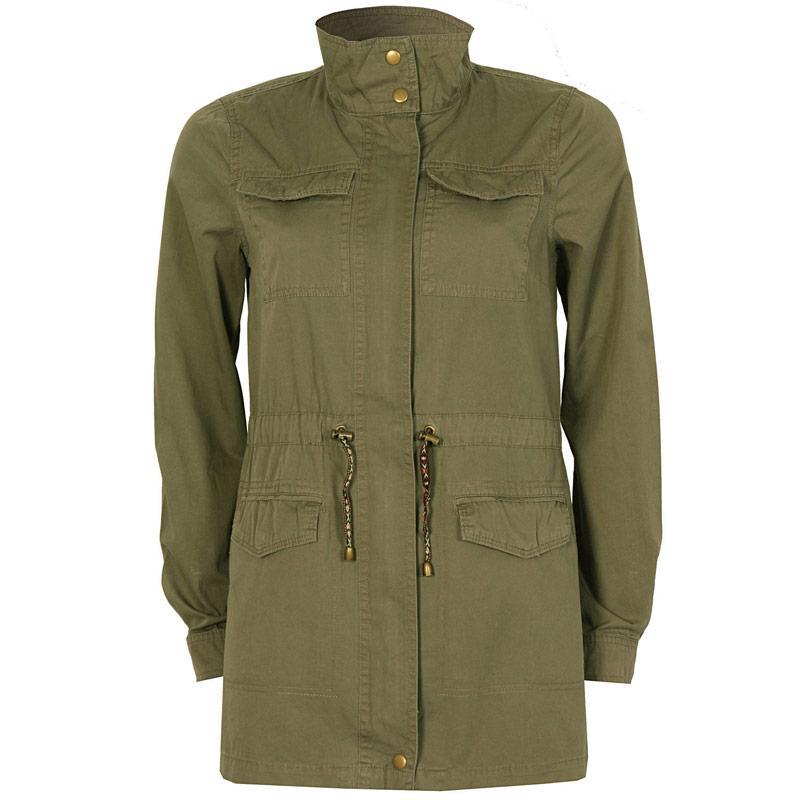 Bunda Vero Moda Womens Chilly Parka Jacket Khaki
