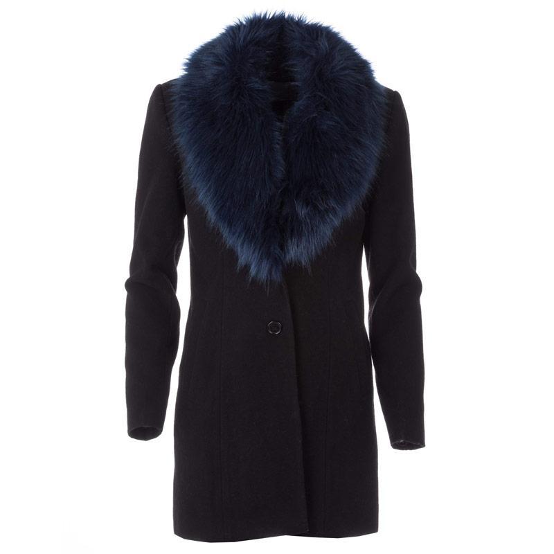 Bunda Vero Moda Womens Cilla Daisy 3/4 Coat Brown