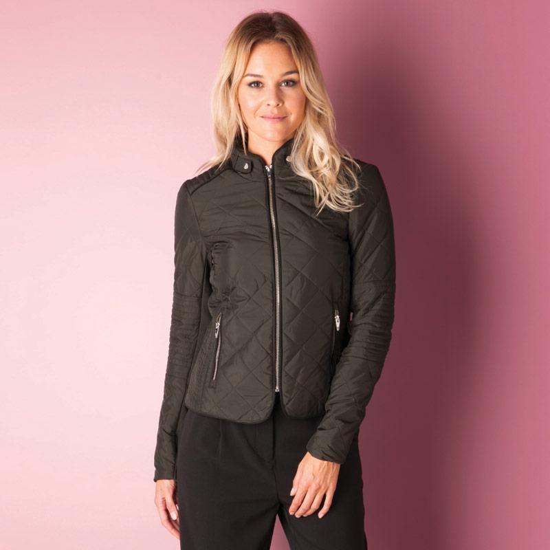 Bunda Vero Moda Womens You Short Jacket olive