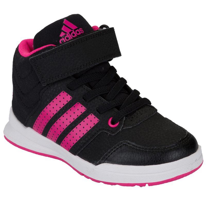 Adidas Children Girls Jan BS 2 Mid Trainers Black