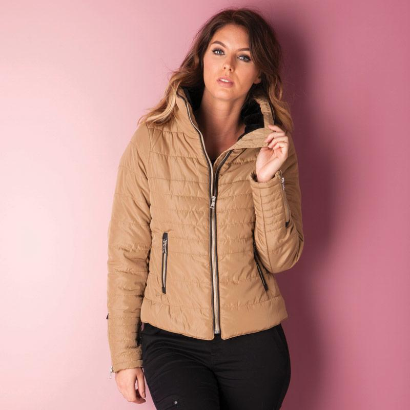 Bunda Vero Moda Womens Lulu Short Jacket Beige
