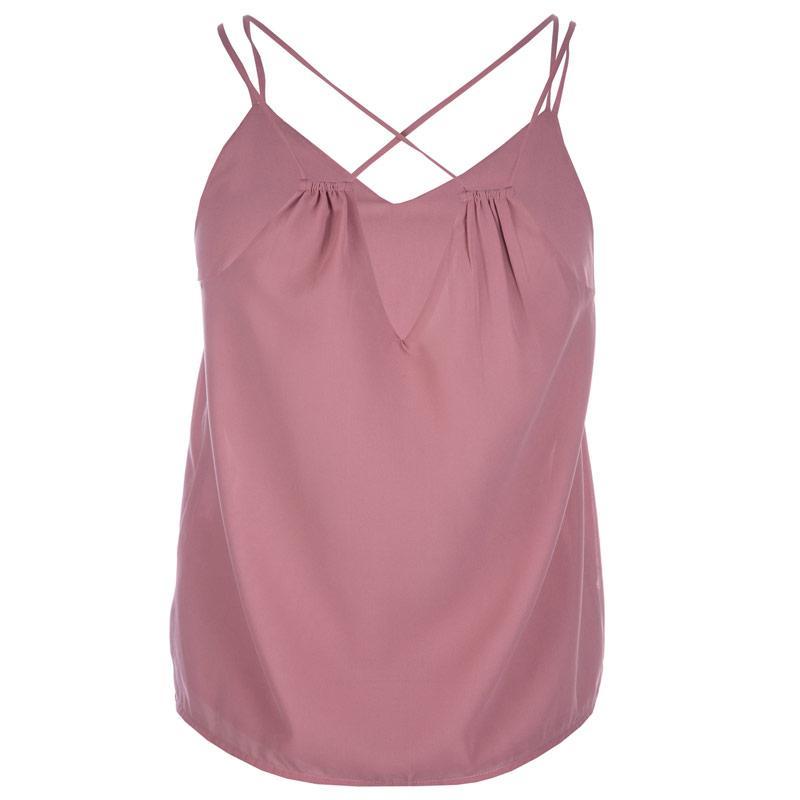 Vero Moda Womens Mynthe Vest Rose