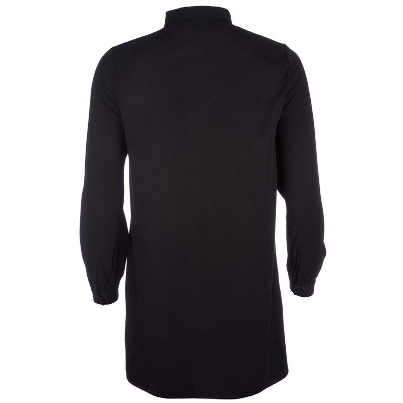 Vero Moda Womens Newmaker Long Shirt Black