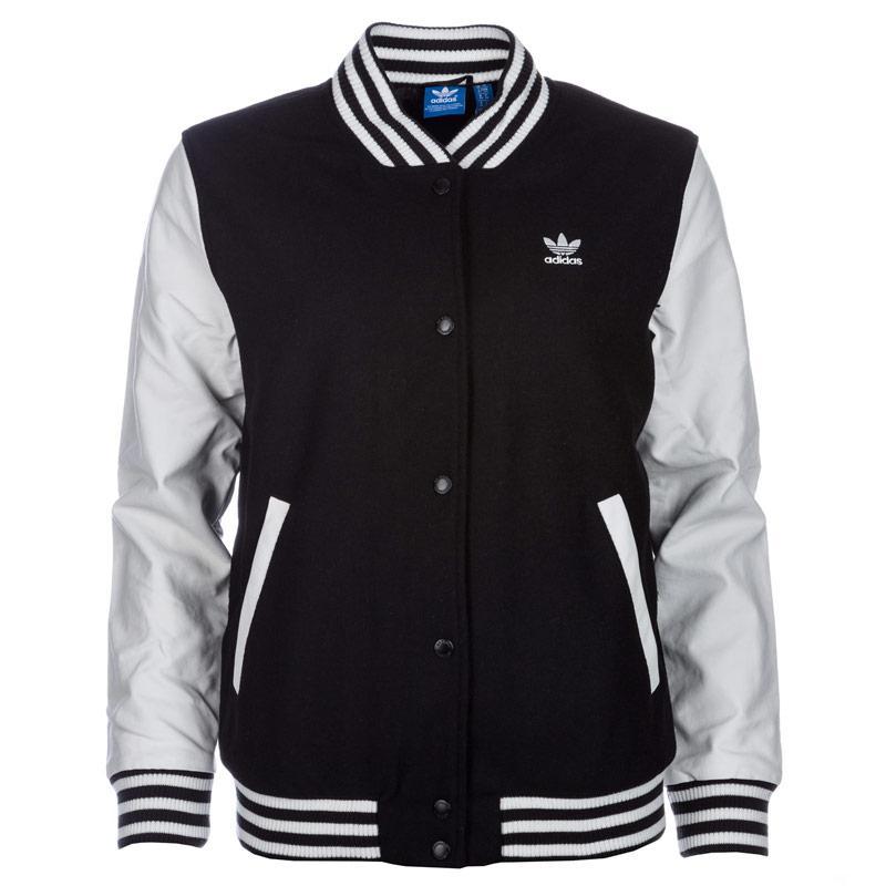 Bunda Adidas Originals Womens Varsity Jacket Black