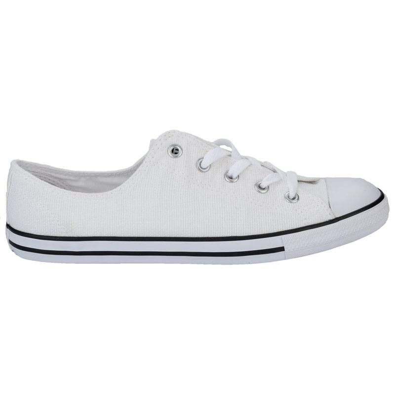 Converse Womens CT AS Dainty Ox Trainers White, Velikost: UK4 (euro 37)