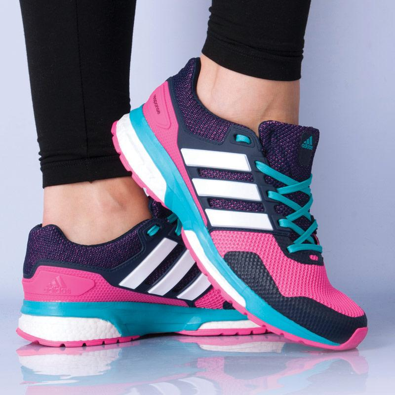 Boty Adidas Womens Response Boost 2 Running Shoes Pink