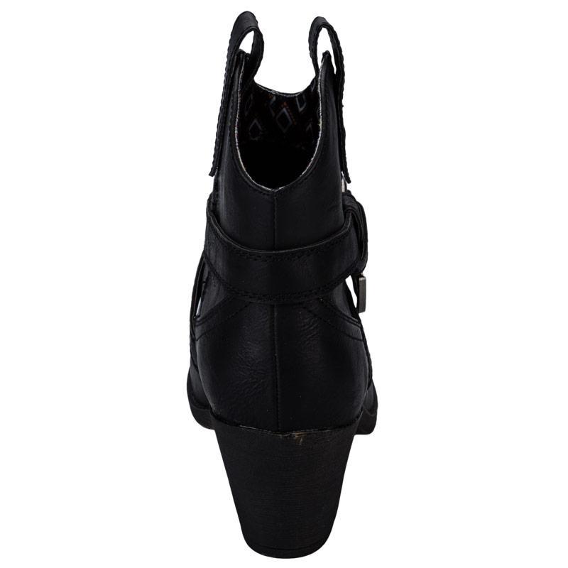 Rocket Dog Womens Satire Boots Black, Velikost: UK4 (euro 37)