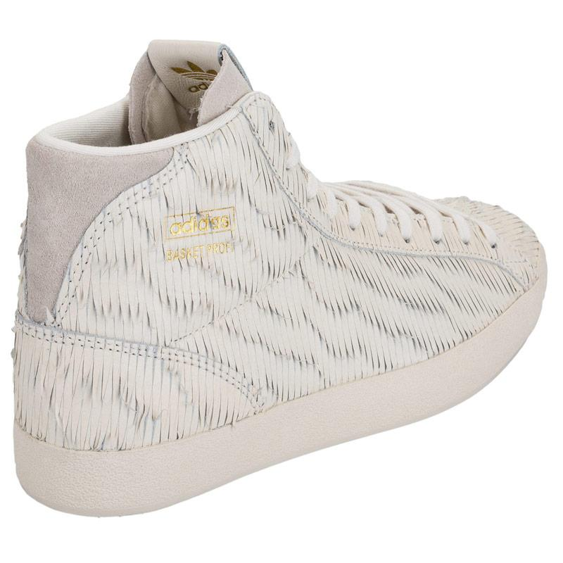 Boty Adidas Originals Womens Basket Profi Trainers Chalk