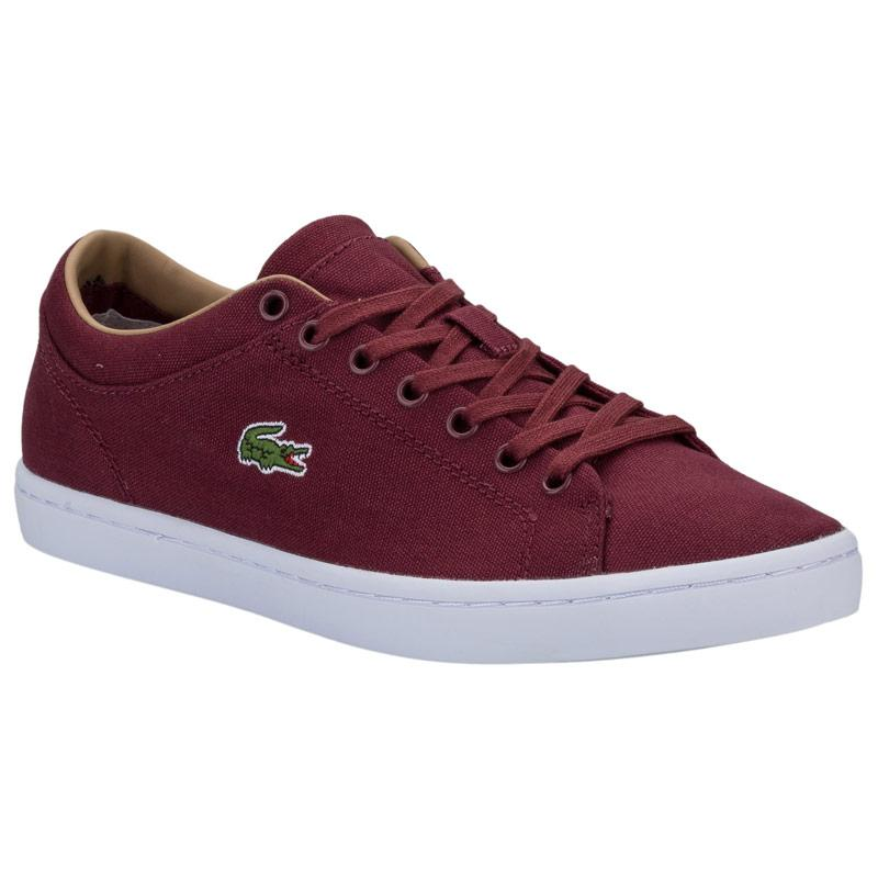 Boty Lacoste Womens Straightset Trainers Red