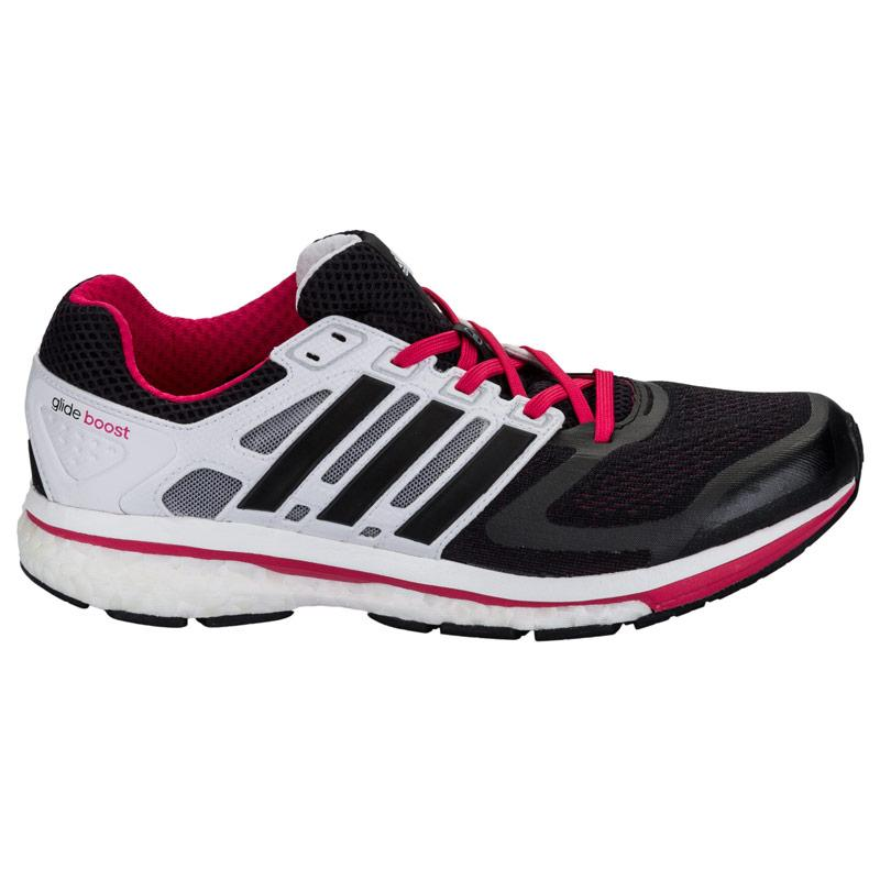Boty Adidas Womens Supernova Glide 6 Running Shoes Black, Velikost: UK7 (euro 41)