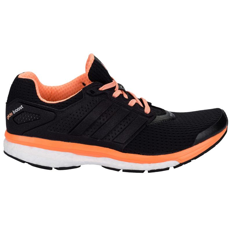 Boty Adidas Womens Supernova Glide 7 Running Shoes Black, Velikost: UK4 (euro 37)