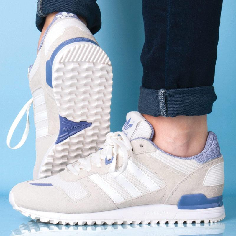 Boty Adidas Originals Womens ZX 700 Trainers Off White