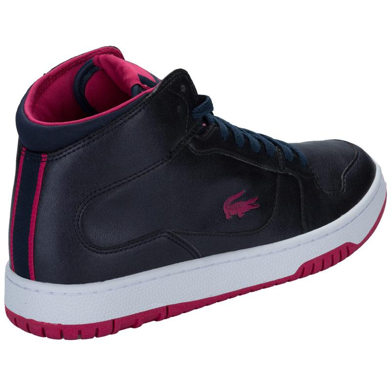 Boty Lacoste Womens Defuse Mid Trainers Navy
