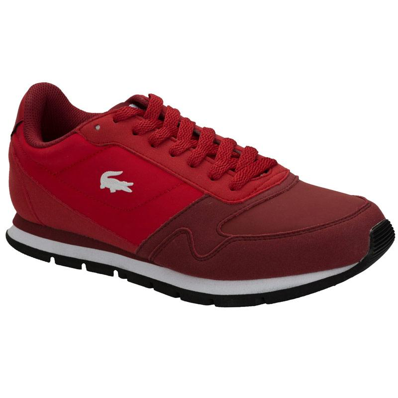 Boty Lacoste Womens Freeglide Trainers Red