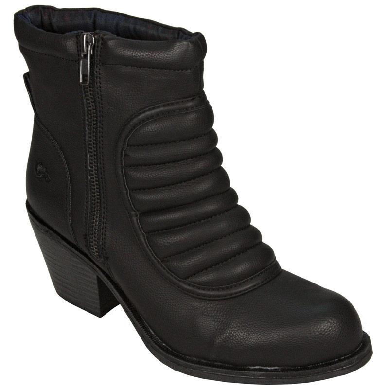 Rocket Dog Womens Ryba Boots Black, Velikost: UK3 (euro 36)