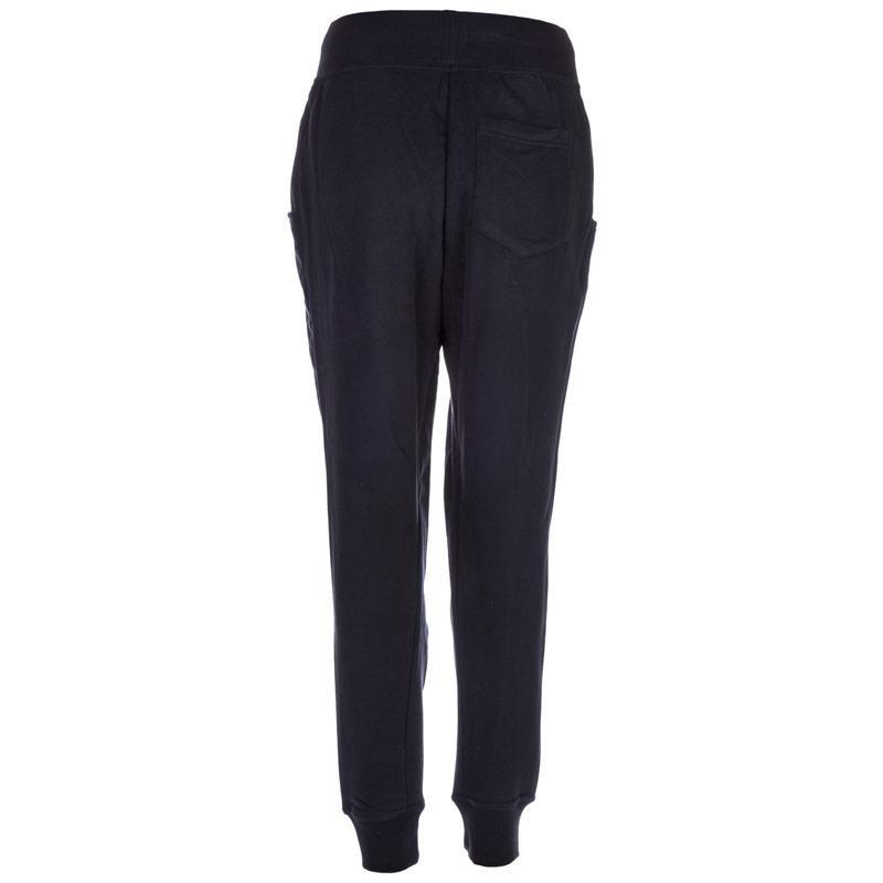 Tepláky Adidas Originals Womens Logo Essentials Baggy Track Pants Black