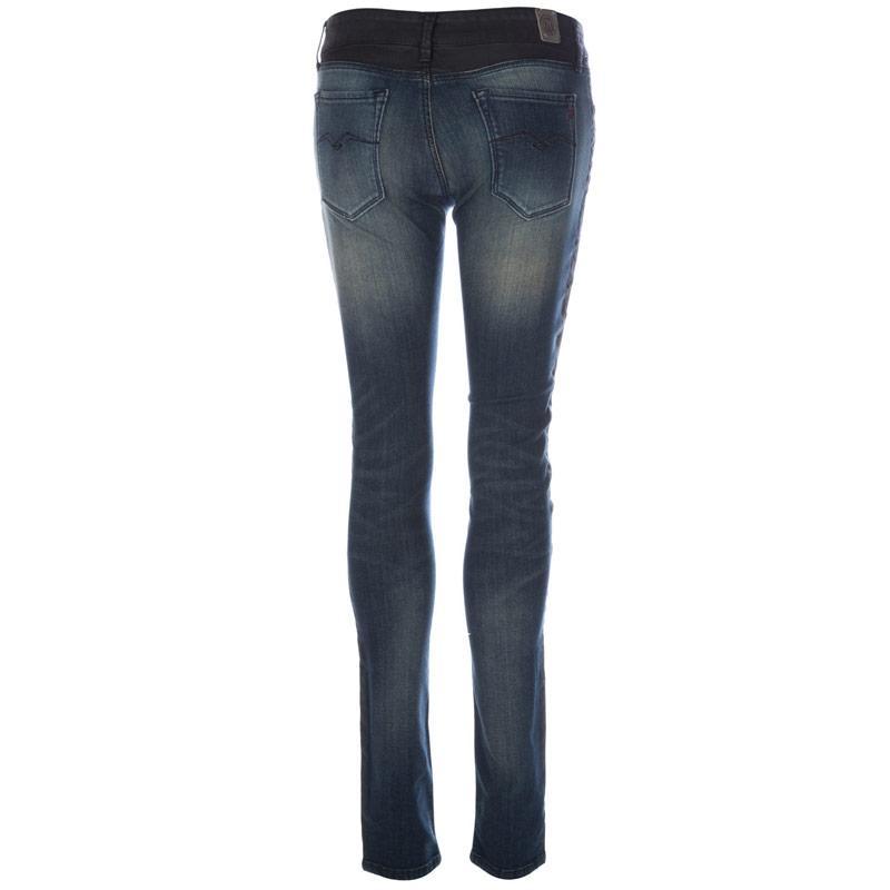Replay Womens Luz Skinny Jeans Denim