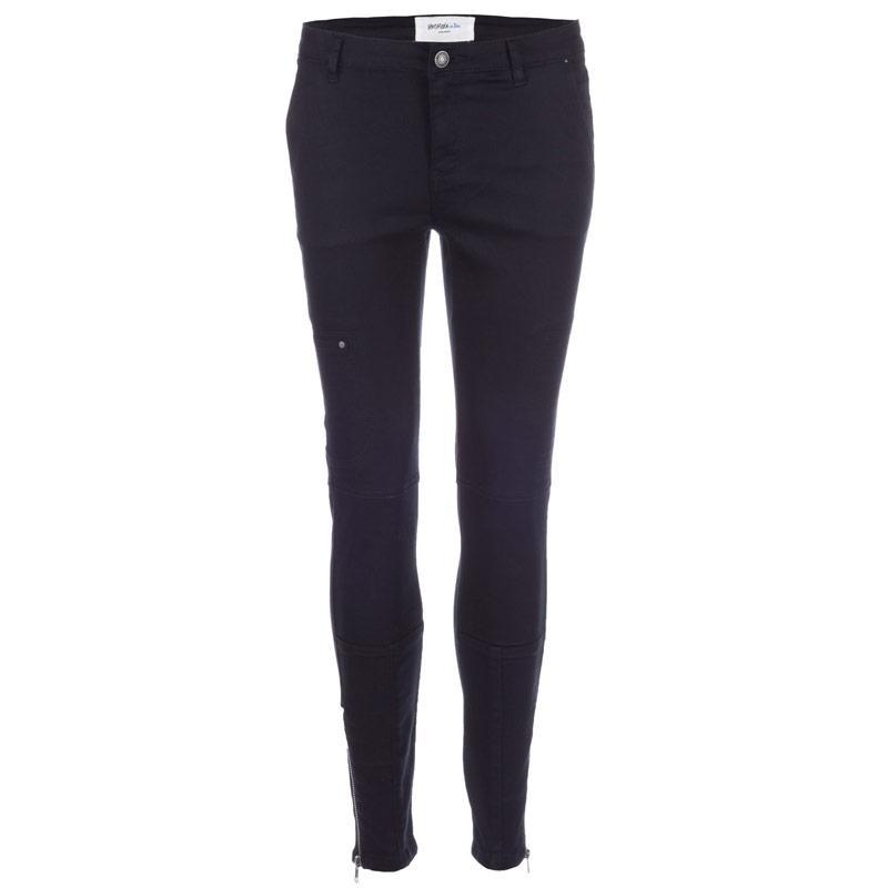 Kalhoty Vero Moda Womens Wish Cargo Pants Black