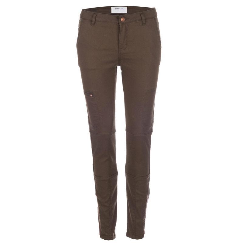 Kalhoty Vero Moda Womens Wish Cargo Pants Green