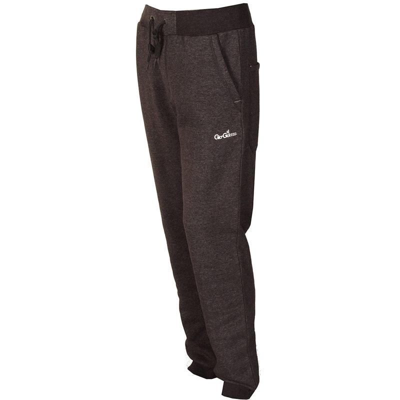 Tepláky Gio Goi Mens Afterdark Fleece Pants Charcoal
