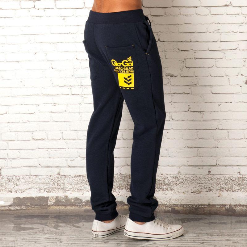 Tepláky Gio Goi Mens Afterdark Fleece Pants Navy