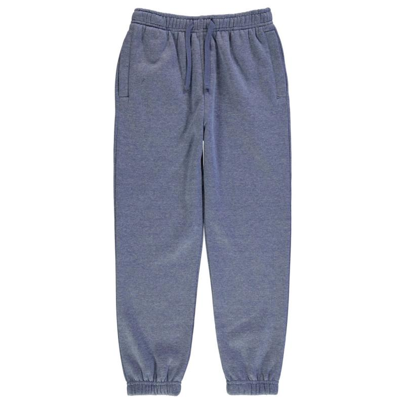 Tepláky Giorgio Brook Jogging Bottoms Junior Boys Grey Marl