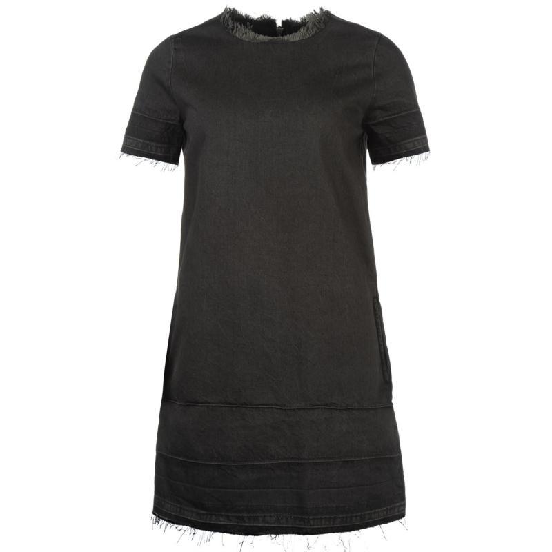 Šaty Only Anya Denim Dress Black