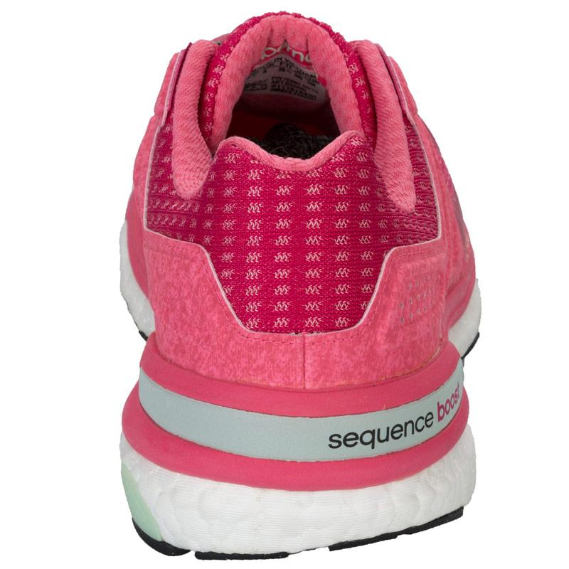 Boty Adidas Womens Supernova Sequence Boost 8 Running Shoes Pink