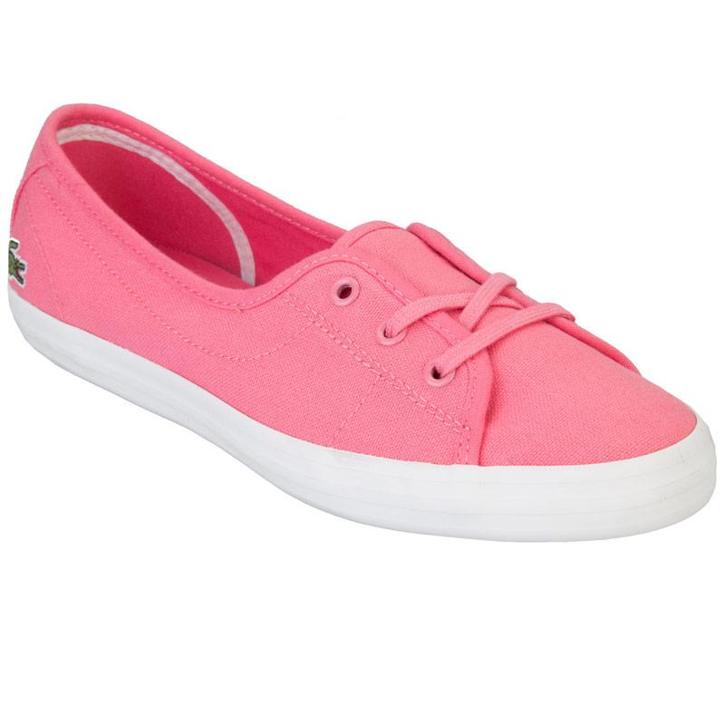Boty Lacoste Womens Ziane Chunky Trainers Pink