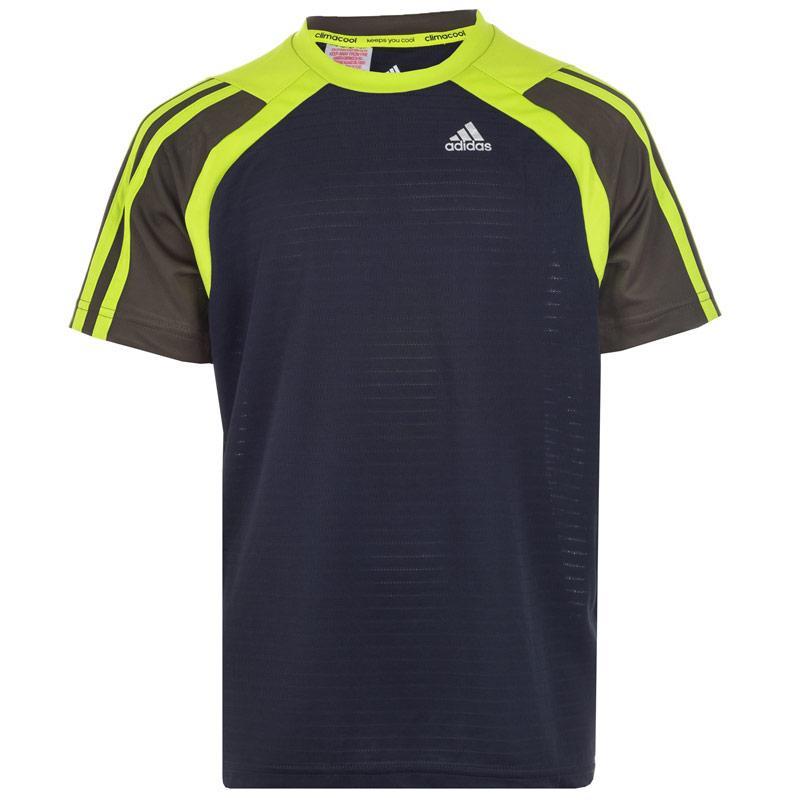 Tričko Adidas Junior Boys Clima T-Shirt Black