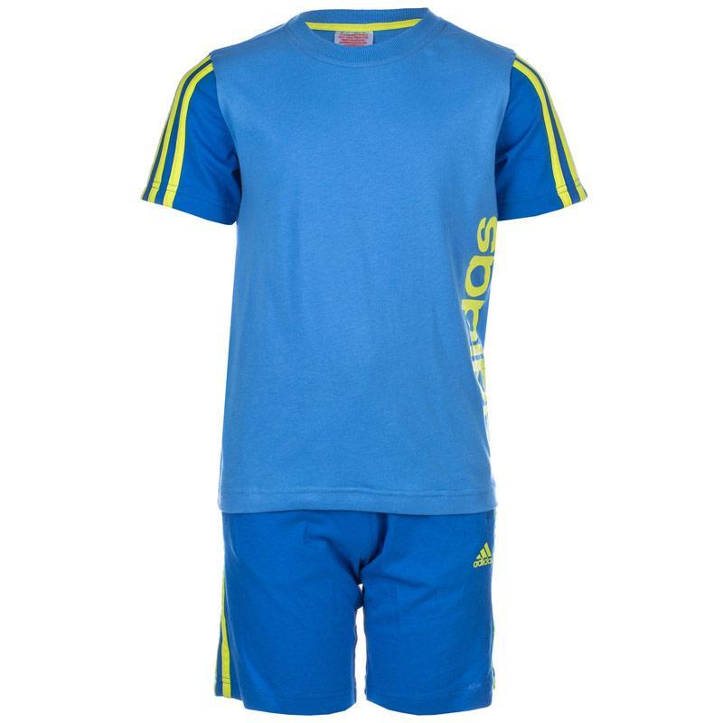 Tričko Adidas Junior Boys Summer Set Blue