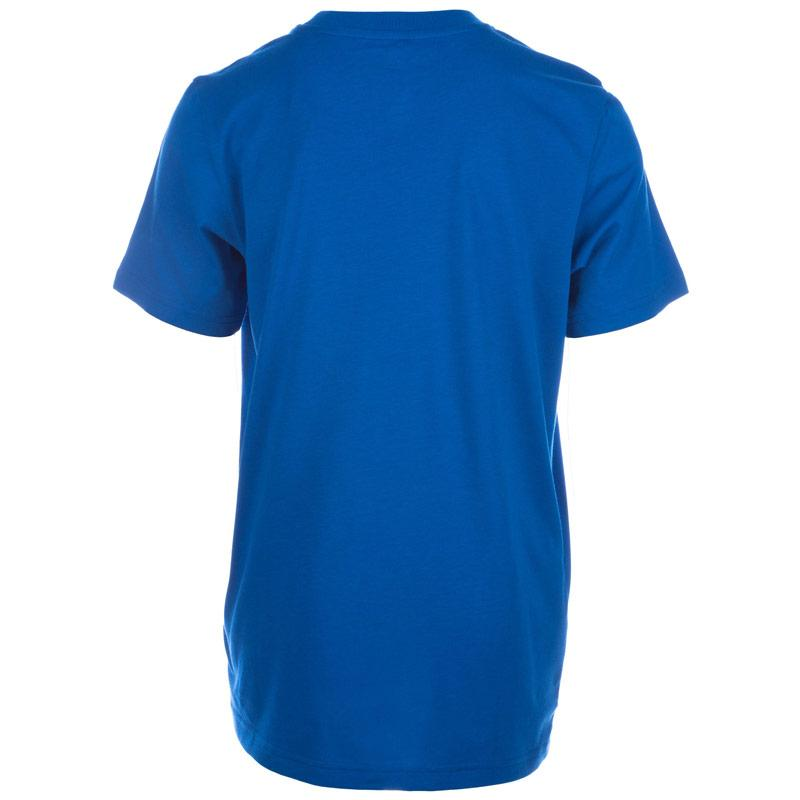 Tričko Adidas Junior Boys Italy Linage T-Shirt Blue
