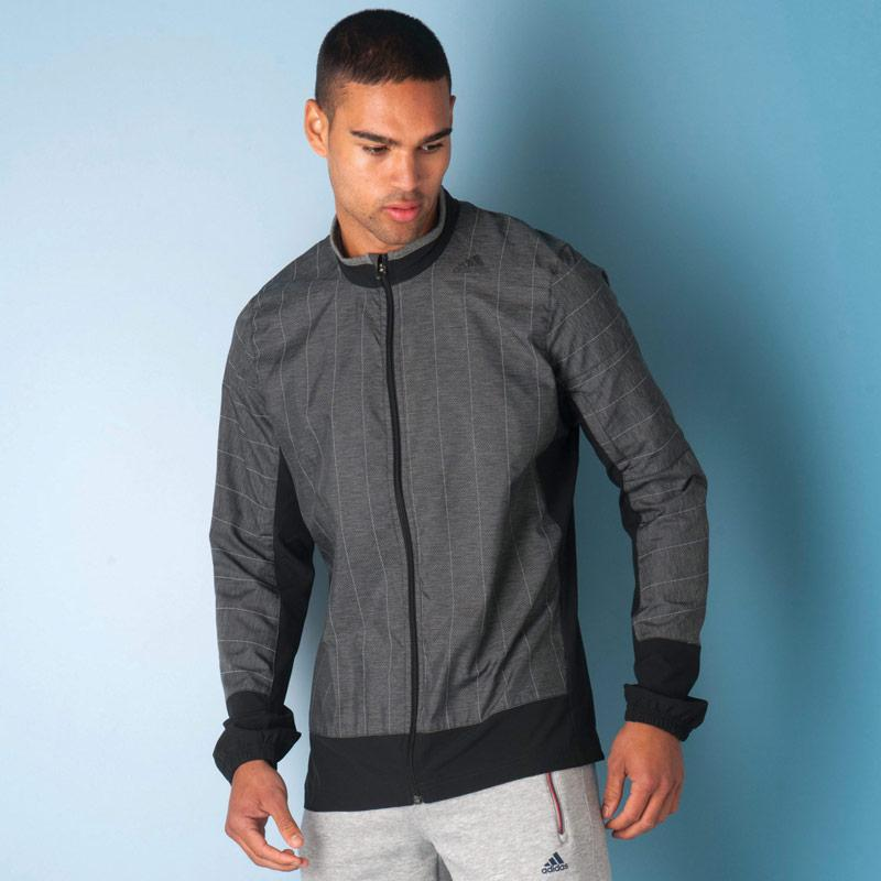 Bunda Adidas Mens Supernova Storm Jacket Grey, Velikost: S