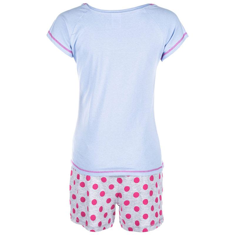 Pyžama Disney Womens Eeyore Short Set Lilac