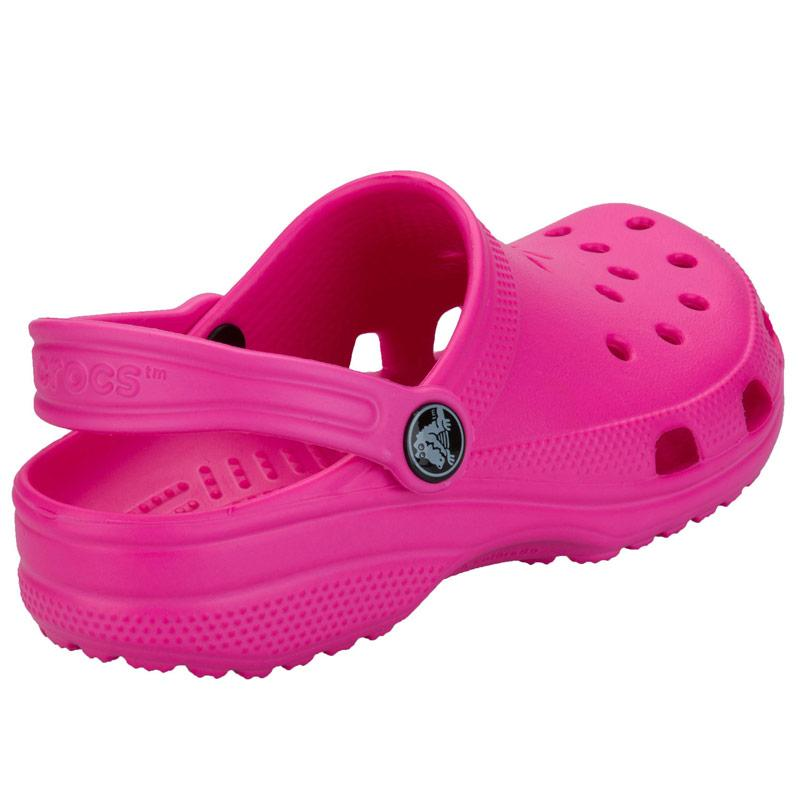 Crocs Infant Girls Classic Kids Crocs Pink